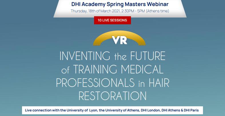DHI Academy Spring Masters Webinar